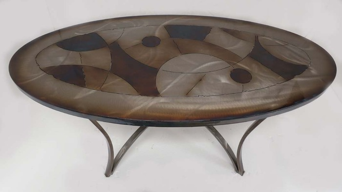 """View of """"Cocktail Table Item # CT-6"""""""