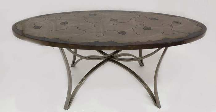 """View of """"Cocktail Table Item # CT-7"""""""