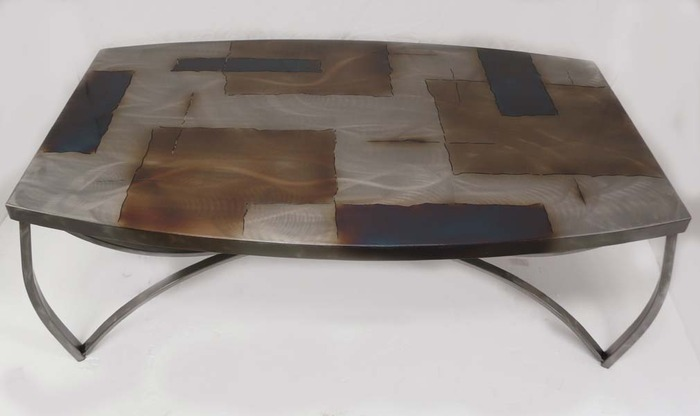 """View of """"Cocktail Table Item # CT-3"""""""